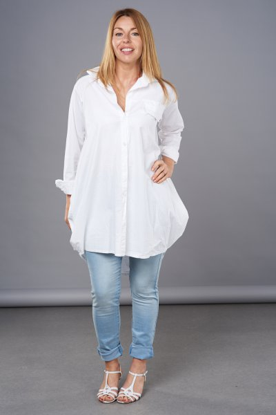 Made In Italy Classic Cotton Shirt