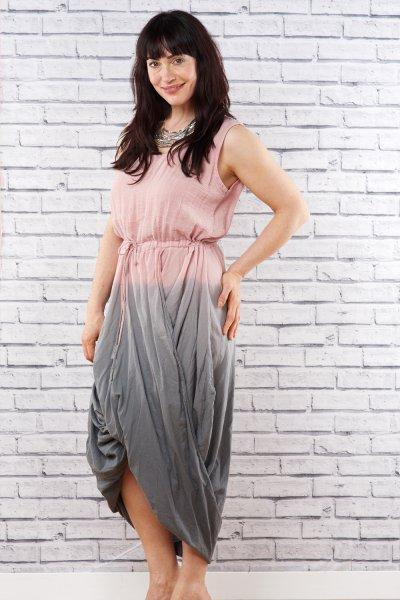 Belle Love Italy Tie-Dye Parachute Dress