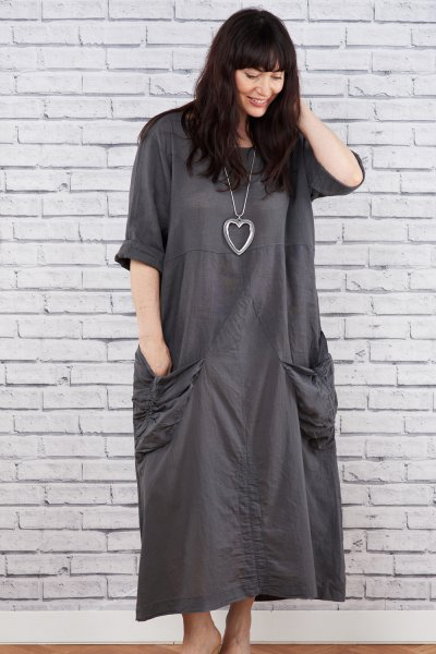 Belle Love Italy Linen Mix Dress