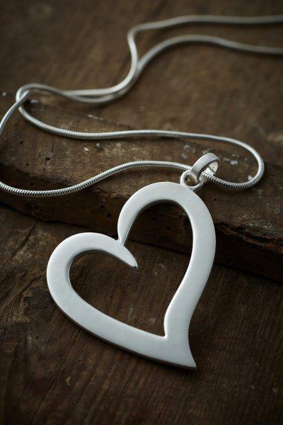 Belle Love Open Heart Necklace