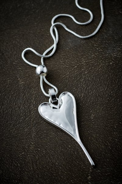 Belle Love Heart Necklace