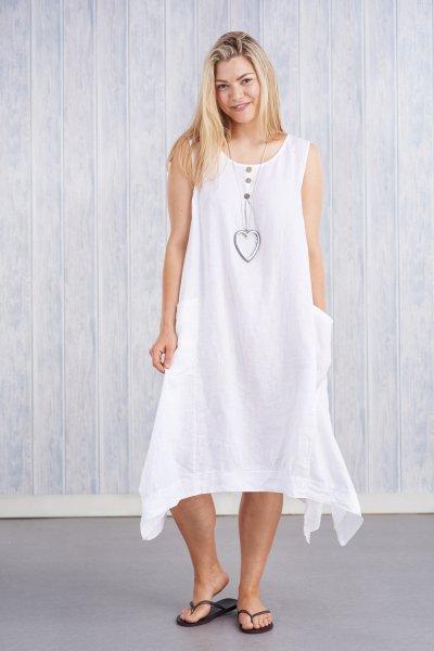 Belle Love Italy Flair Linen Dress