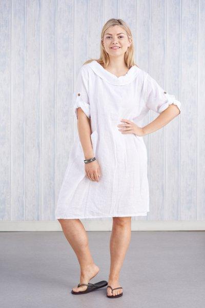 Belle Love Italy On Trend Linen Dress