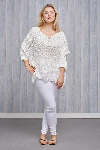 Belle Love Italy Crochet Top