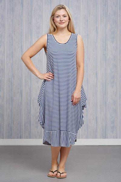Belle Love Italy Stripe Jersey Dress