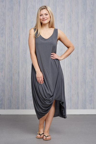 Made In Italy Drape Dress