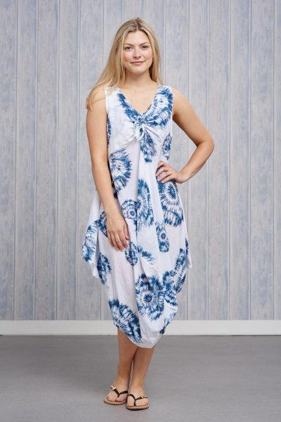 Made In Italy Tie-Dye Dress