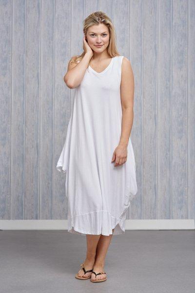 Made In Italy Jersey Sleeveless Dress