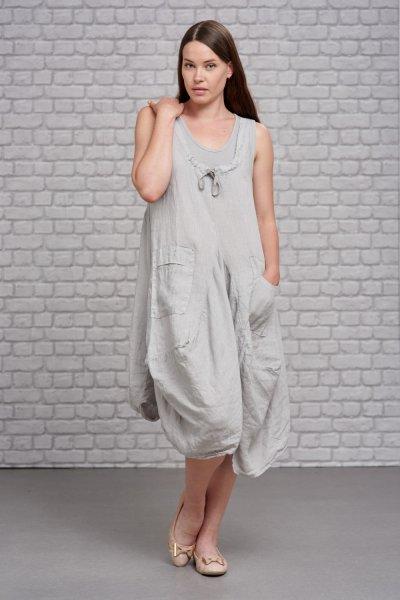 Belle Love Italy Butterfly Linen Dress