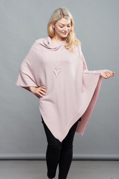Belle Love Italy Asymmetric Poncho