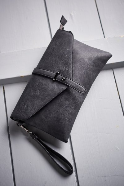 Belle Love Italy Buckle Clutch Bag