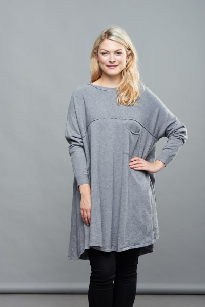 Made In Italy Cashmere Mix Jumper Dress