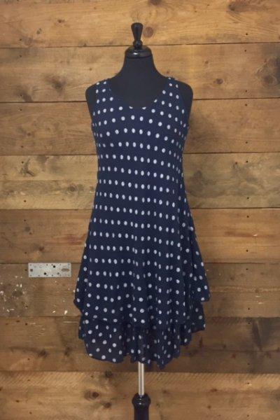 Belle Love Italy Polka Dot Dress