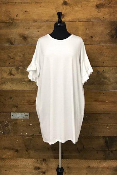 Belle Love Italy Ruffle Arm Dress