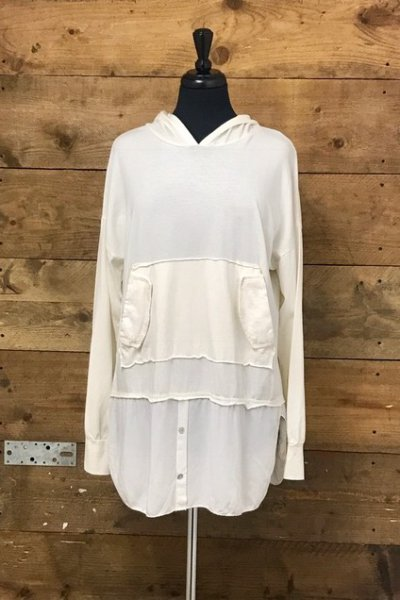 Belle Love Italy Hooded Casual Top