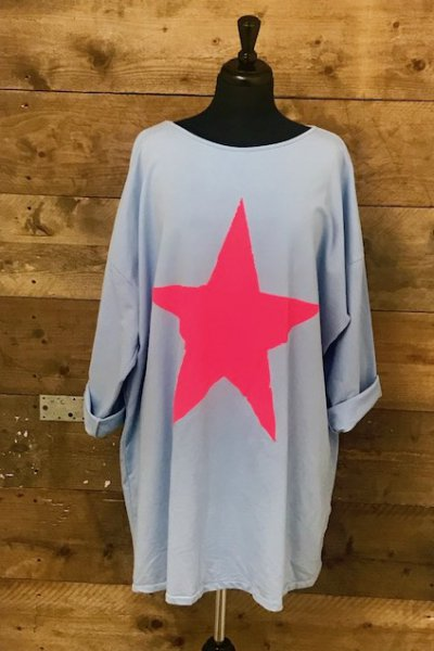 Belle Love Italy Star Tunic