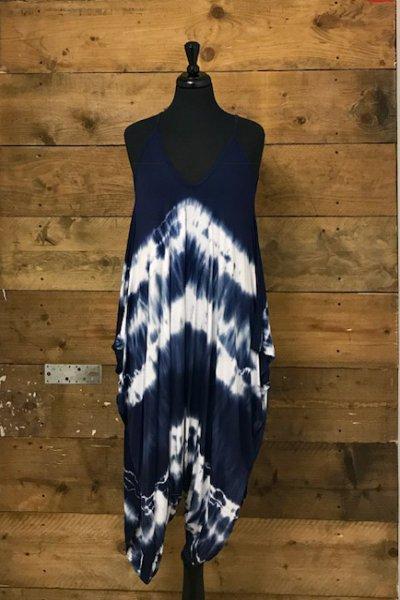 Belle Love Italy Tie-Dye Jumpsuit