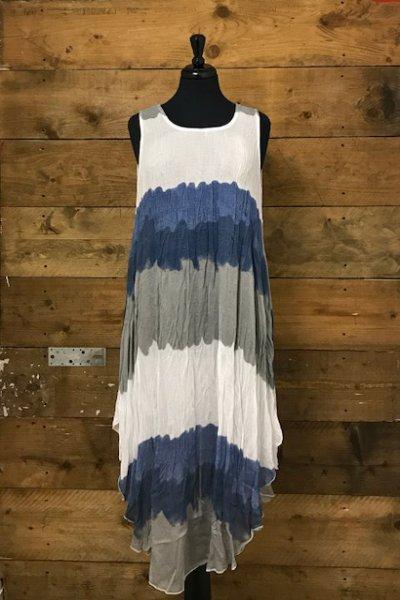 Belle Love Italy Two-Piece Tie-Dye Long Dress