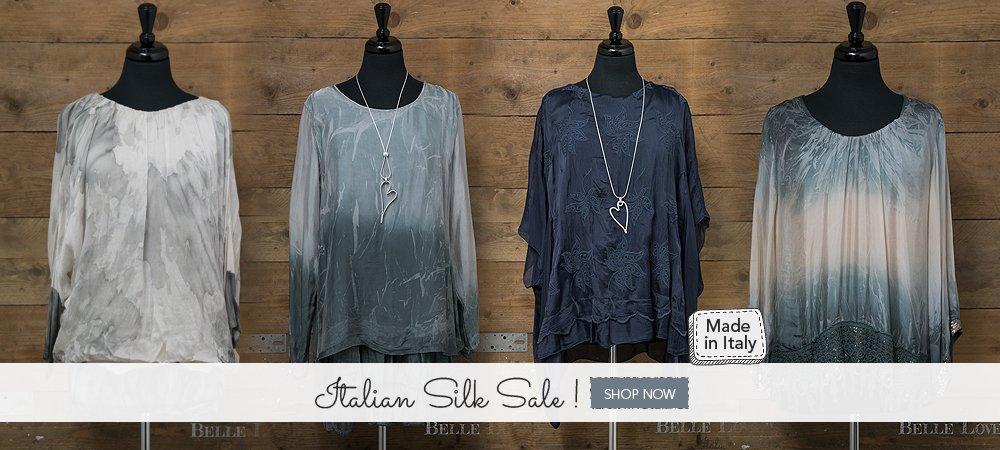 Grab Italian Silk Sale