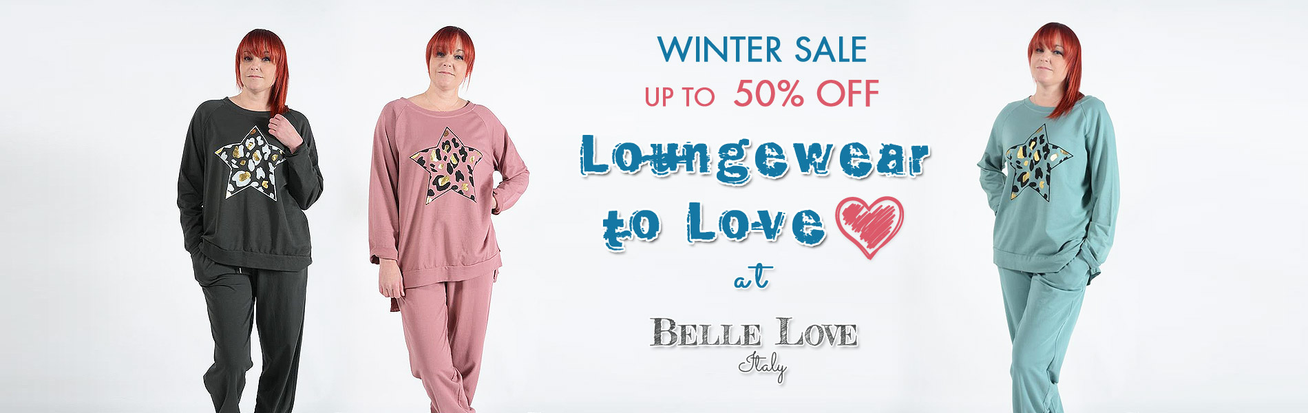 Loungewear to Love ❤️ at Belle Love Italy