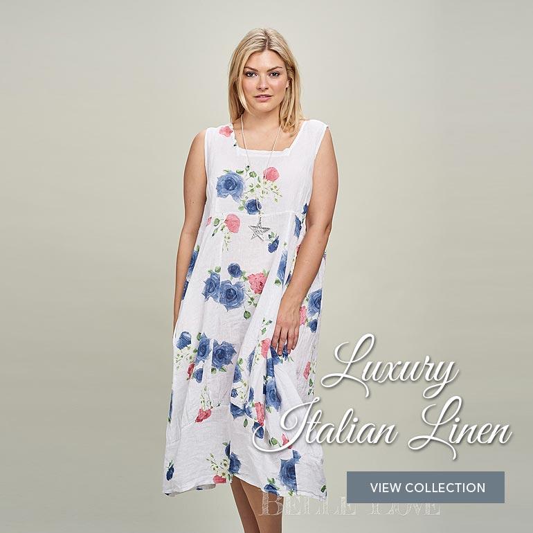 Luxury Italian linen