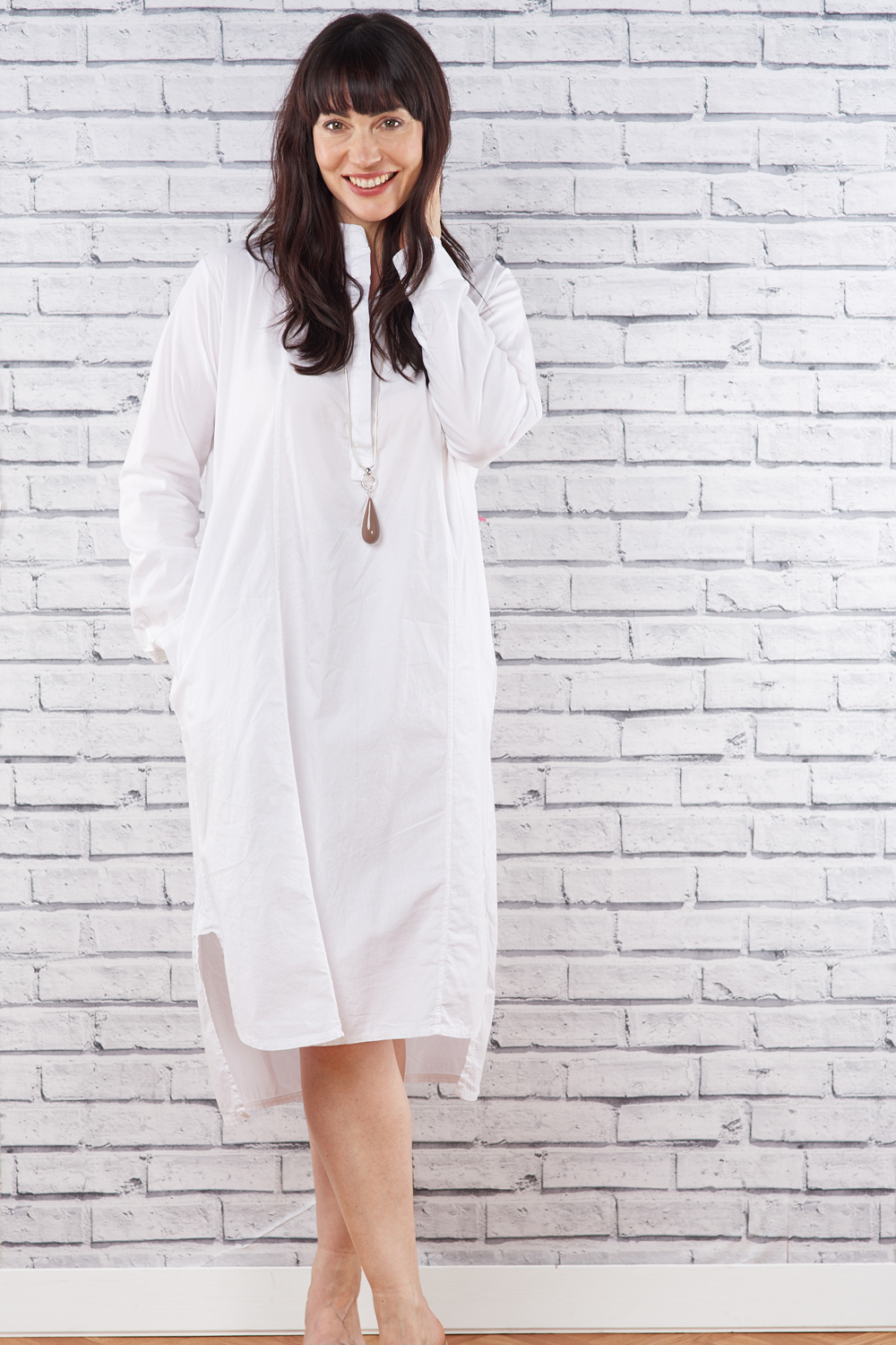 Made In Italy Cotton Dress