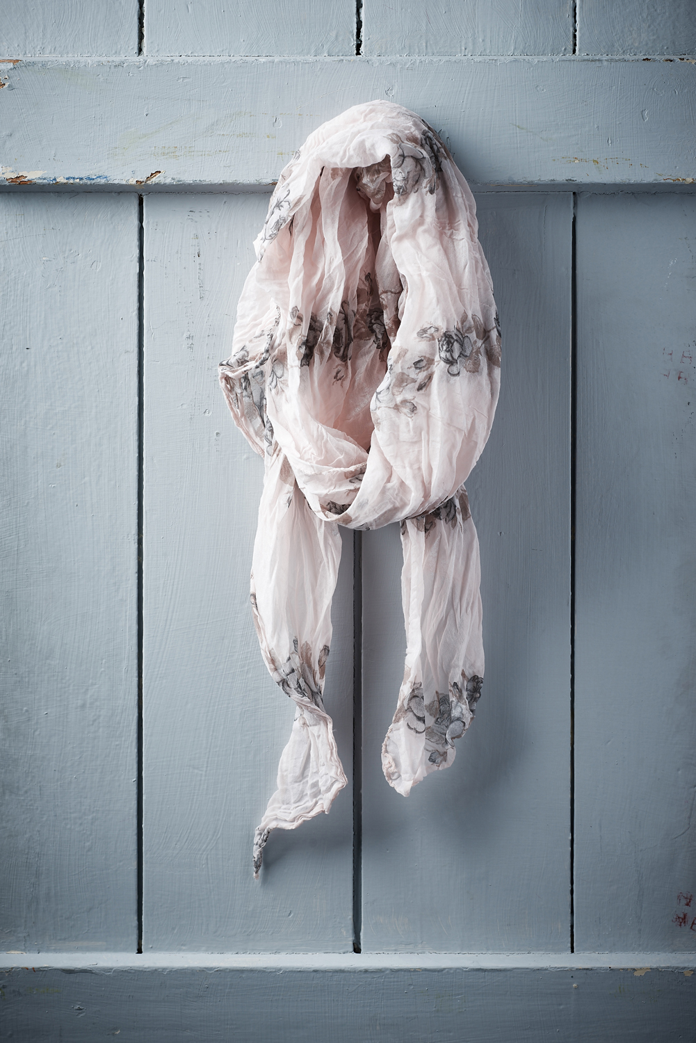 Belle Love Italy Rose Print Silk Mix Scarves