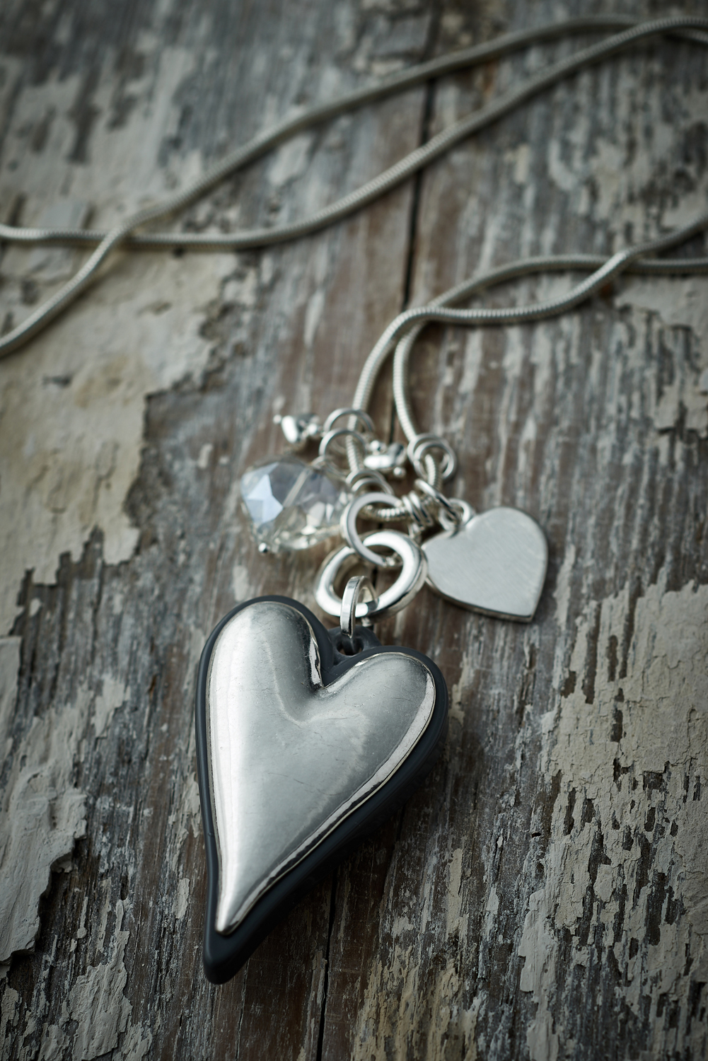 Belle Love Multi-Heart Necklace