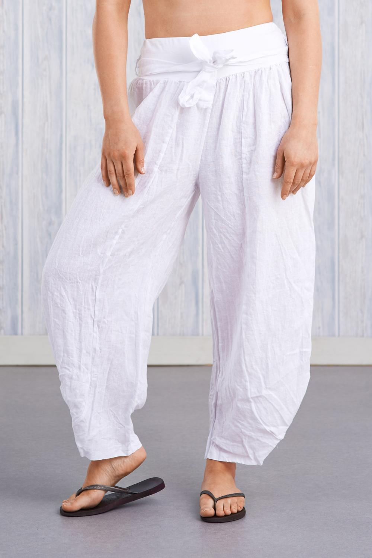 Belle Love Italy Relaxed Linen Trouser