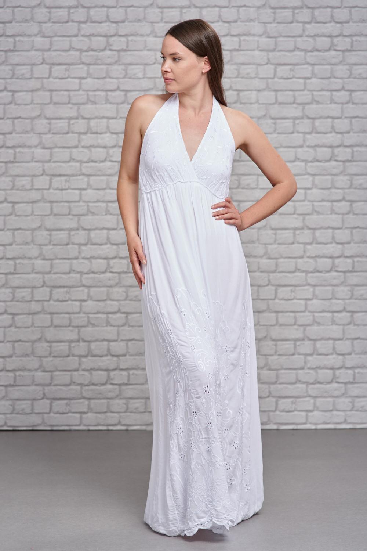 Belle Love Italy Halter Neck Maxi Dress