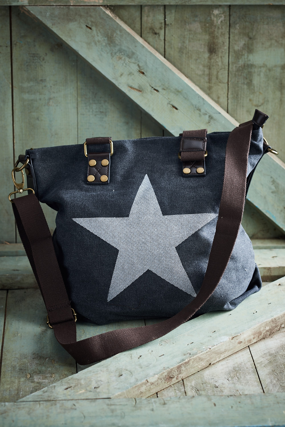 Belle Love Italy Canvas Star Bag