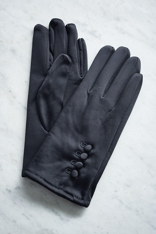 Belle Love Italy Black Gloves