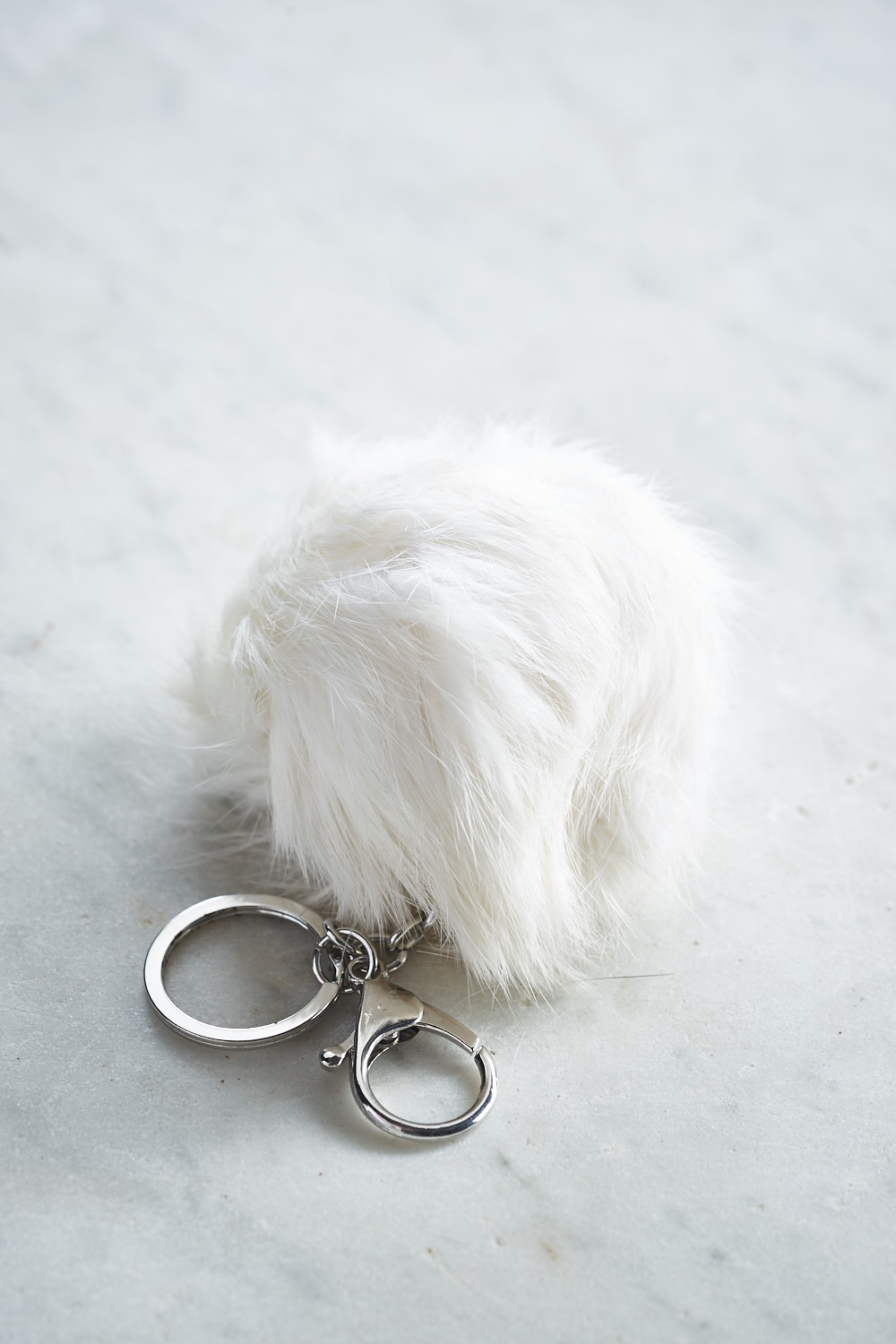 Belle Love Italy Fur Pom Pom