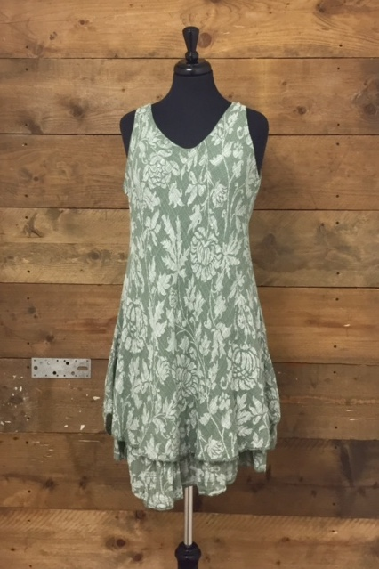 Belle Love Italy Classic Floral Print Dress