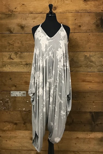 Belle Love Italy Marble Harem Style Jumpsuit