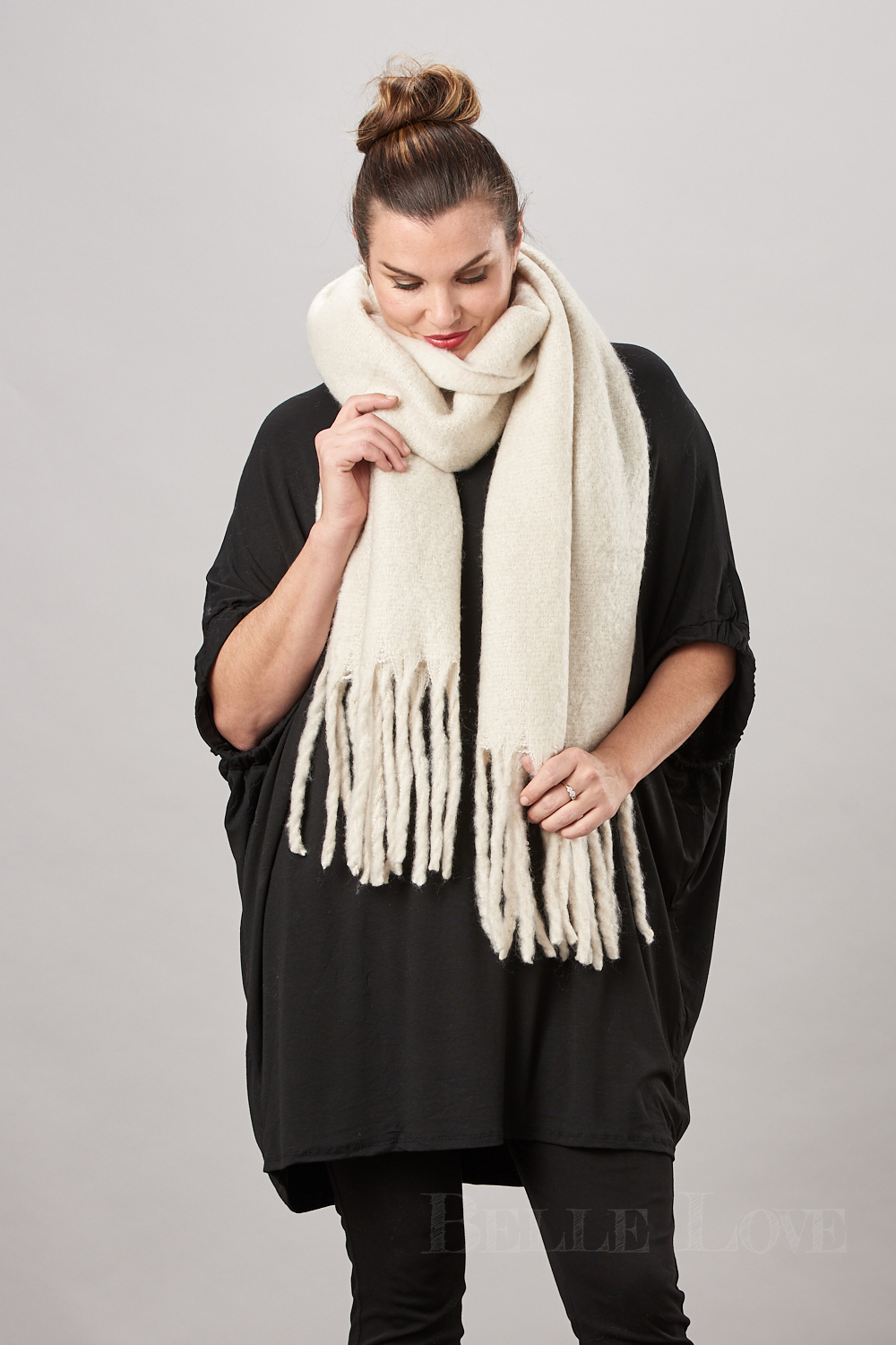 Belle Love Italy Chunky Scarf