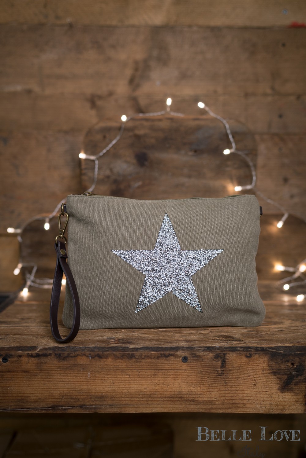 Belle Love Italy Glitzy Star Bag