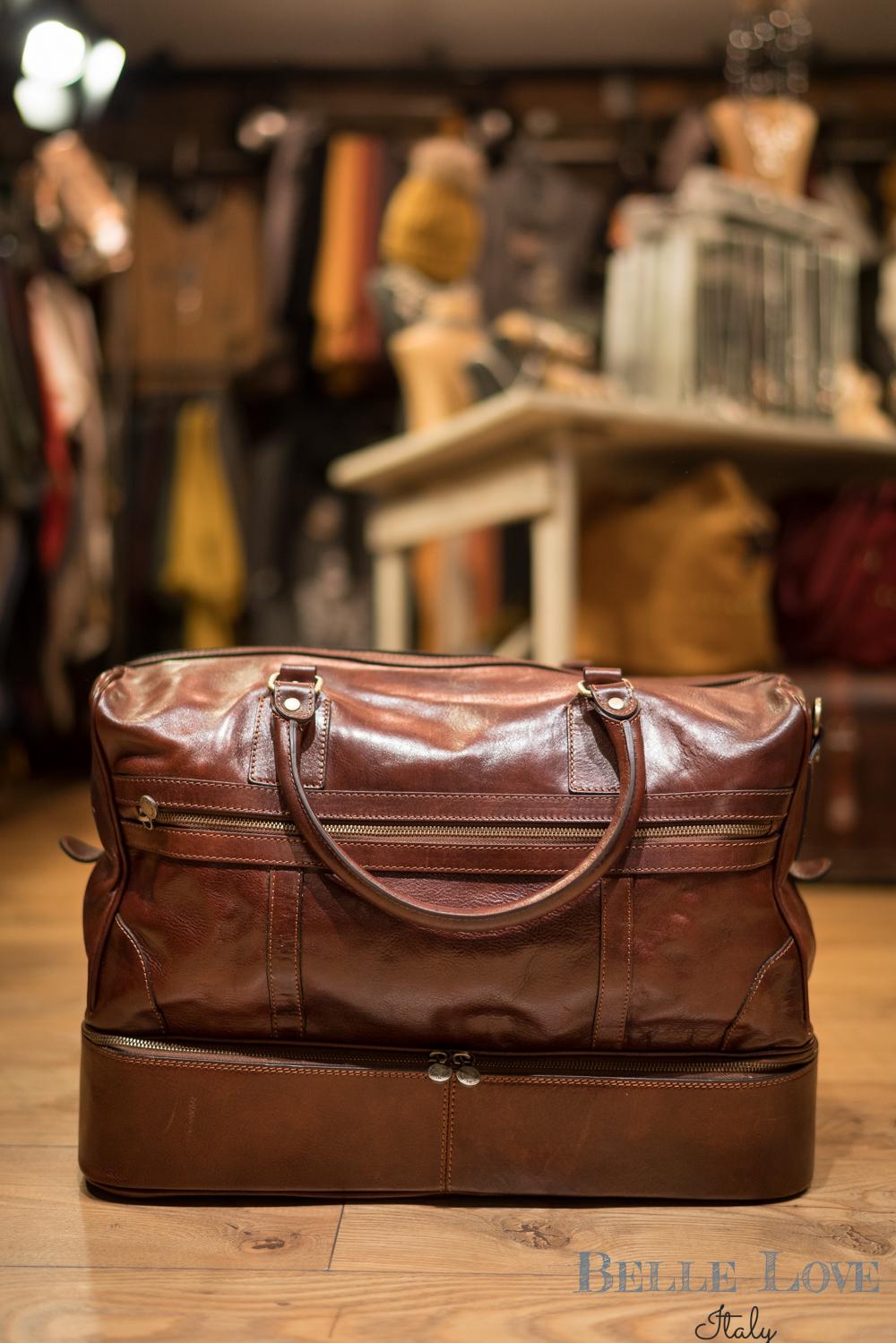 Belle Love Italy Luxury Weekend Travel Bag