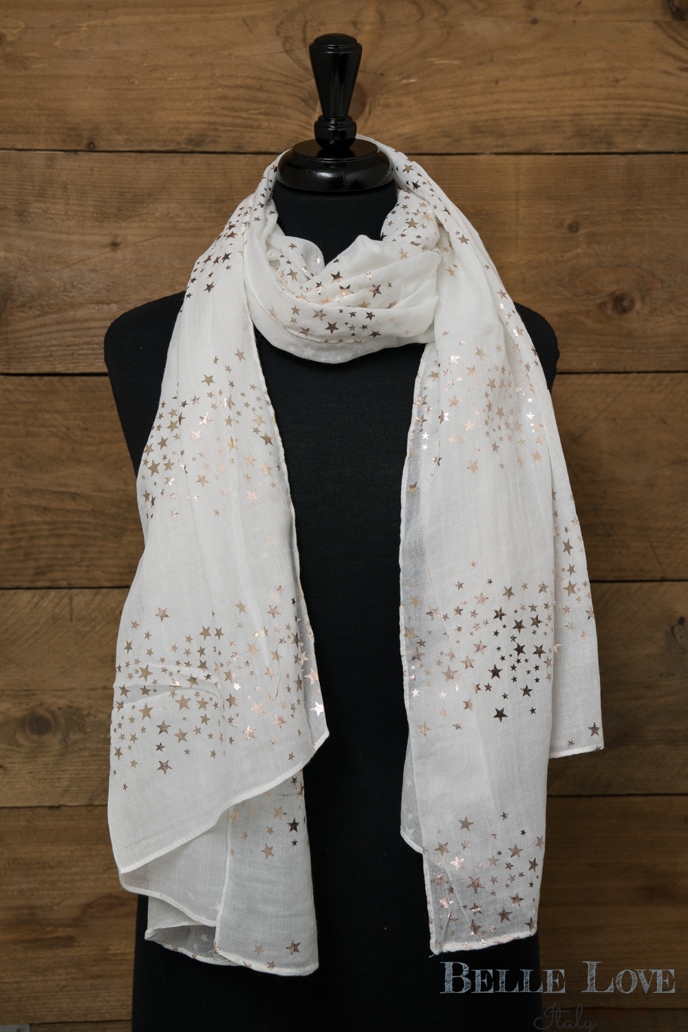 Belle Love Italy Rose Gold Galaxy Scarf