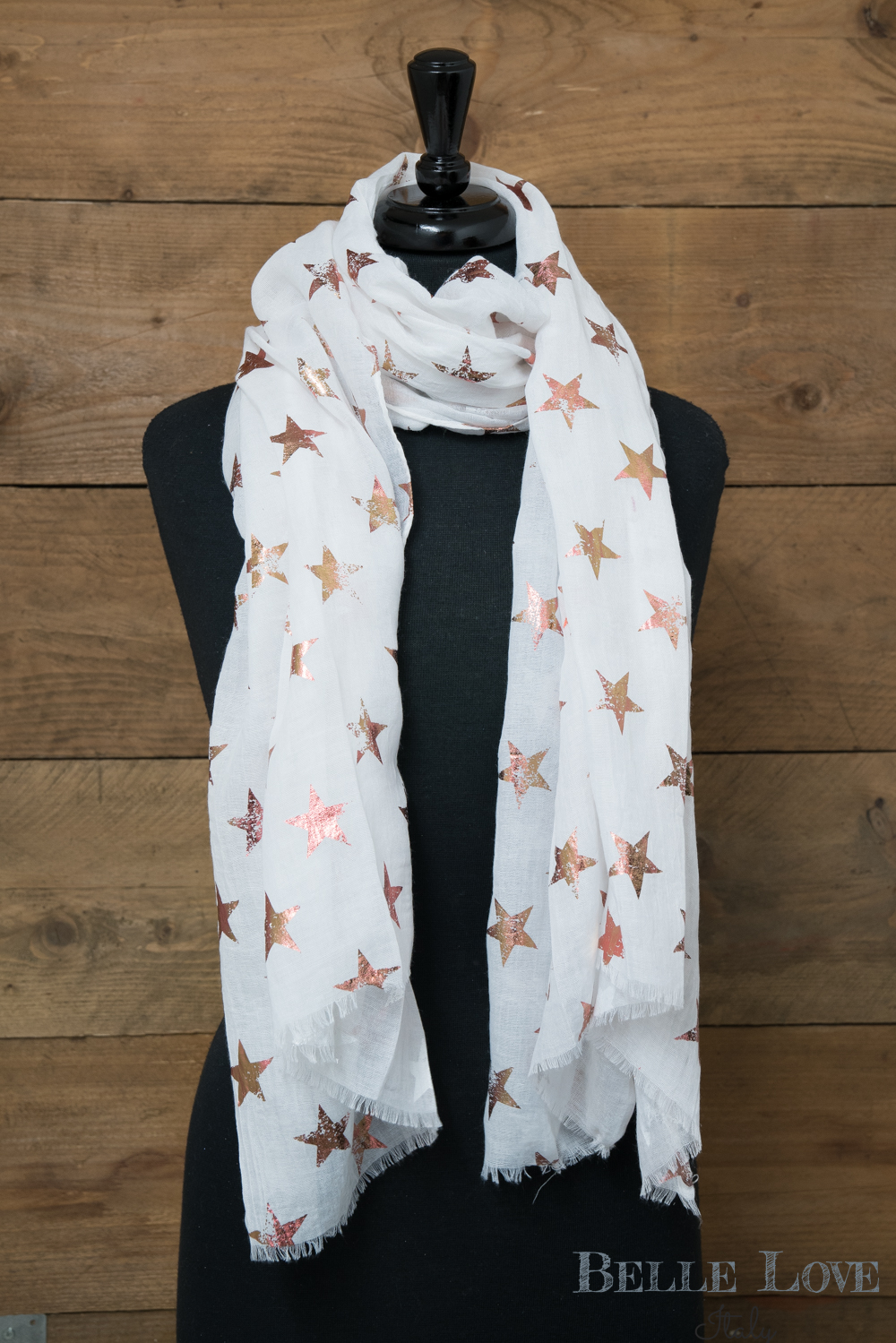 Belle Love Italy Antique Stars Scarf