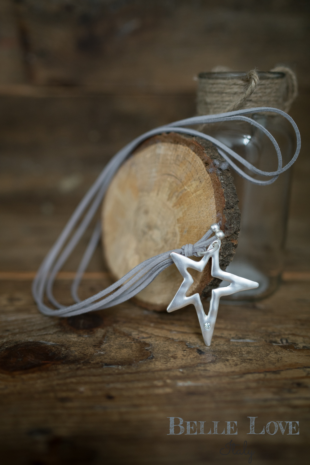 Belle Love Italy Shooting Star Necklace