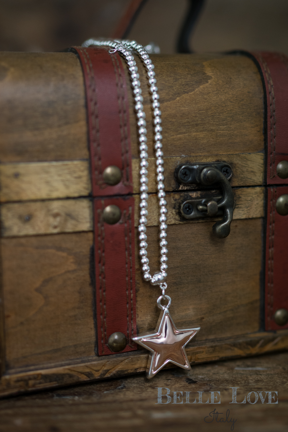 Belle Love Italy Small Star Necklace