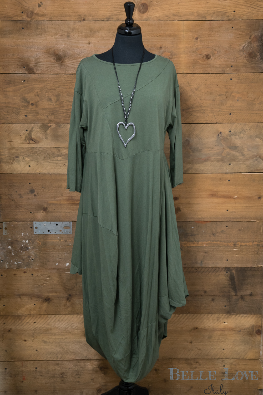 Belle Love Italy draped Dress