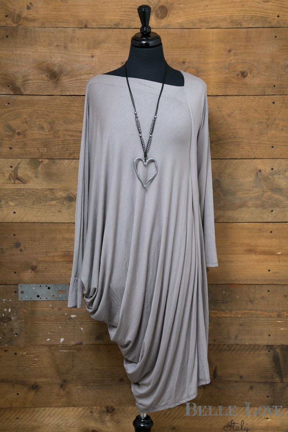 Belle Love Italy Long Asymmetric Dress