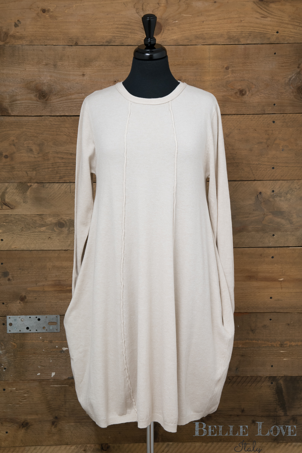 Belle Love Italy Cashmere Mix Dress