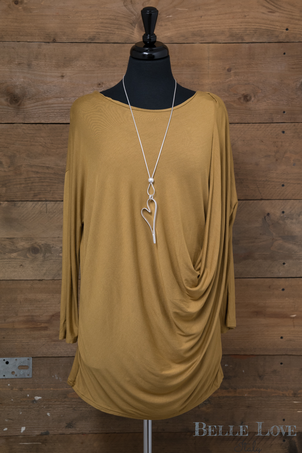 Belle Love Italy Rouched Top