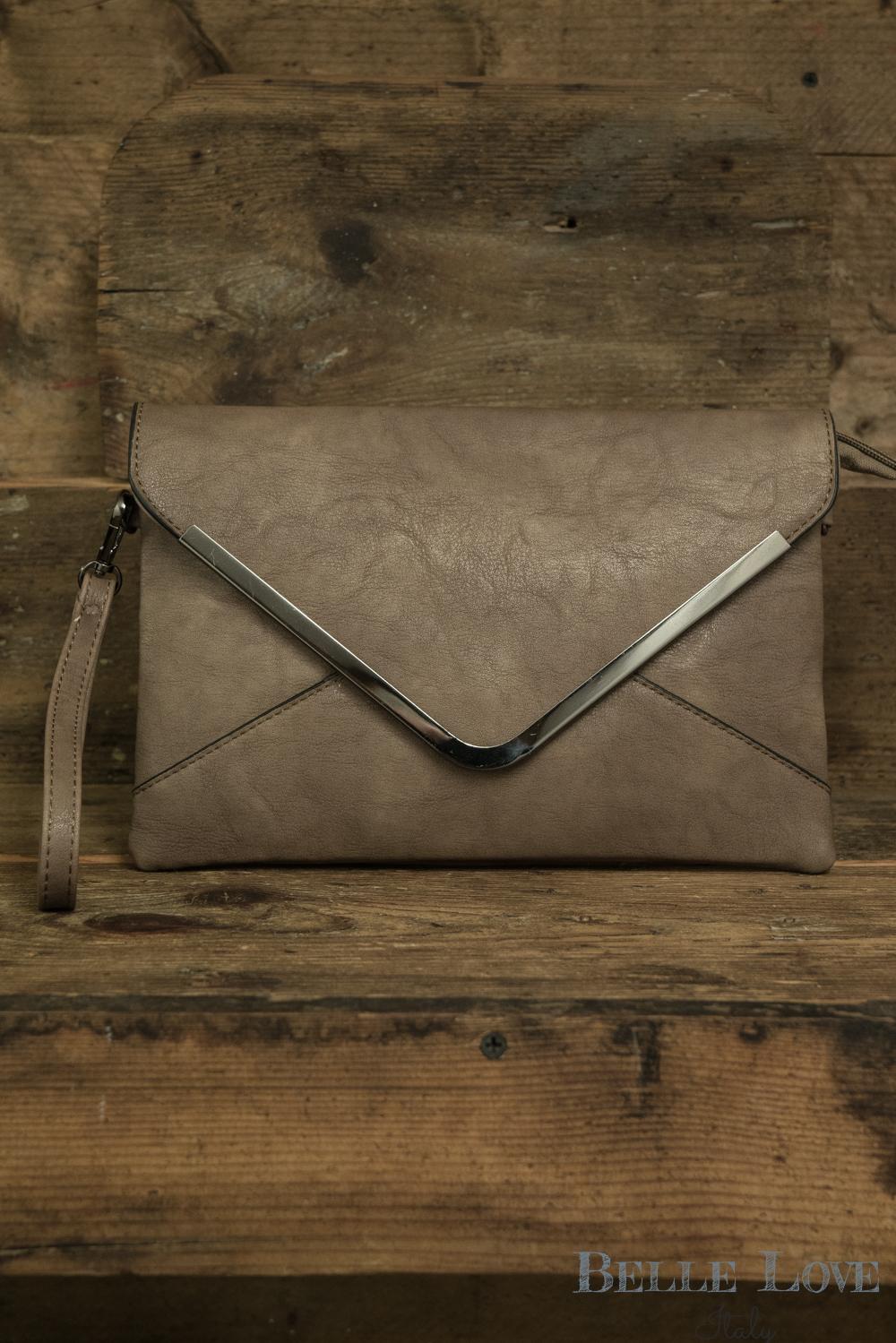 Belle Love Italy Envelope Clutch Bag