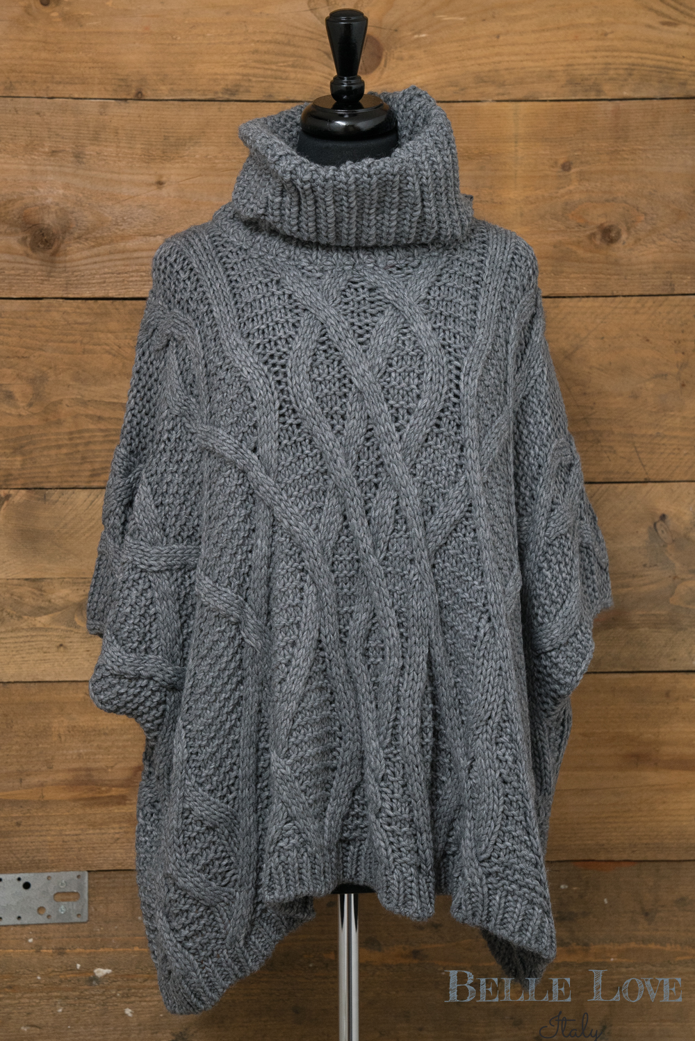 Belle Love Italy Cable Knitwear Jumper