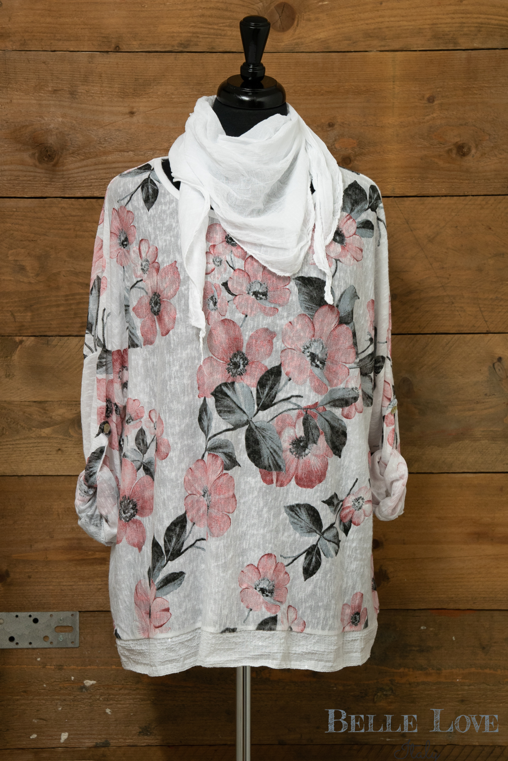 Belle Love Italy Large Floral Print Two Piece