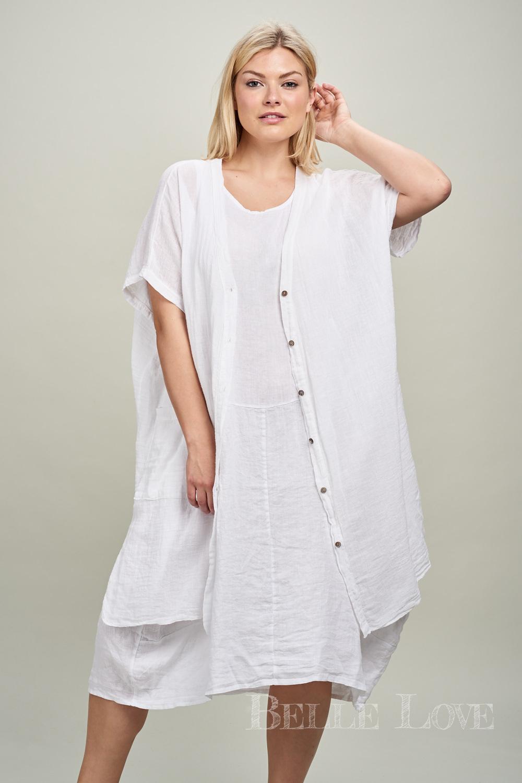 Belle Love Italy Lightweight Linen Shirt
